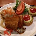 レストラン オキナワ - 日替り定食♪(ラフテーの角煮が魅力)