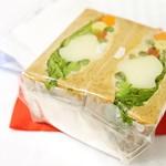 ワズ サンドイッチ - 野菜たっぷりバーニャカウダサンド¥360