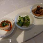 Shisentoufahansou - 本日の前菜三種