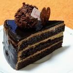心のおと - チョコレートケーキ