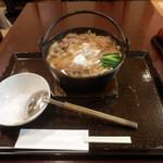 82141375 - すき焼き鍋うどん