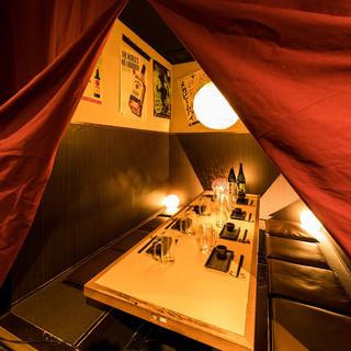 完全個室あり!優雅にお食事を♪