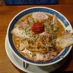 からみそラーメン ふくろう - 辛味噌チャーシュー麺