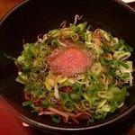 豆金餃子 - 汁なし担々麺