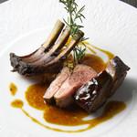 ケンゾーエステイトワイナリー - 仔羊のロースト、燻香まとい