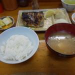 源八 - 鯖塩、ご飯極小で650円