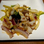 キオスコ - スミイカのピリ辛サラダ
