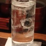 福の花 - 焼酎水割り