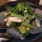 root - 真鯛とうるいのカルパッチョ
