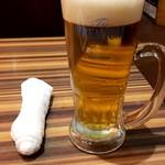 陳家私菜 - 生ビール