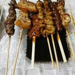 焼き鳥 てっぺん - 料理写真:タレの感じです!