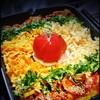 koreAn diNing GOMAmura - 料理写真:【チーズタッカルビ(プルナク)コース】限定!「TOMATO」&「カマンベールチーズ」トッピングの【プレミアムチーズタッカルビ(プルナク)】