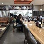 まんえい堂 生蕎麦処 お福食堂 - 店内をパシャ 土曜日の11時40分