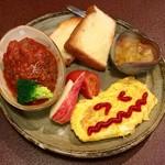 ジャム cafe 可鈴 - ミニプレート(750円)※本日のスープ付きです