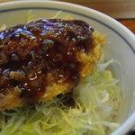 ラーメンペコペコ - ミニヒレカツ丼っす