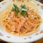cafe&restaurant Nature  - ハーフパスタ(かぼちゃのカルボナーラ)