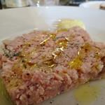 オステリア コマチーナ - 豚肉とレバーのパテ