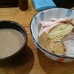 82150476 - つけ麺 大 限定トッピング バラチャーシュー