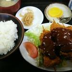 とら吉 - 料理写真:串カツ定食920円(税込)