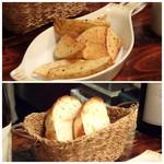 ロベール・エ・ルイーズ - ◆ポテトフライも揚げたてで美味しい。 ◆自家製パン。