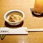 みちのく - お通しの煮魚