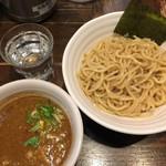 二代目えん寺 - ベジータポタ辛つけ麺¥850