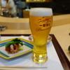 天喜 - 料理写真:最初はビール