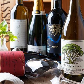 ひと手間かけたお料理と自然派ワインの芳醇なマリアージュ