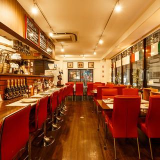 アットホームな雰囲気のイタリアンレストランで、至福のひと時を