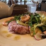 アフタヌーンティー・ティールーム - 海老とアボカドの13穀米サラダちらし