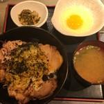ルンゴ - 炙りチャーシュー丼@950円