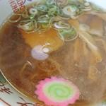 うらほろ亭 - 醤油ラーメン