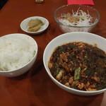 82161538 - 最強麻婆豆腐セット