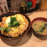 焼鳥のヒナタ - 美味しい味噌汁付き