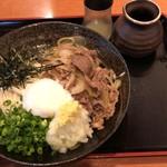 82161842 - 牛肉ぶっかけ(冷)うどん400g、¥1,070