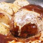 チアーズ - 洋食屋の鉄板ハンバーグ