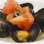 チアーズ - ムール貝の白ワイン蒸し