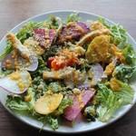 82167714 - 西欧野菜の彩りベジ盛りサラダ