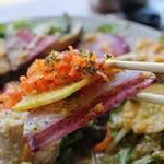 82167737 - 西欧野菜の彩りベジ盛りサラダ