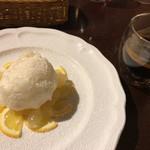 BUCA - BUCA(瀬戸内レモンのソルベ、ブレンドコーヒー)