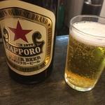 82170313 - 【'18.3】サッポロ 中ビンは500円