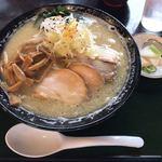 82172345 - 福島鶏白湯 ¥900