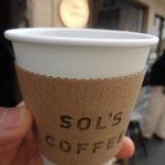 ソルズコーヒー - カップ&外観