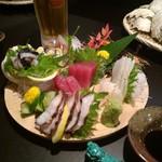 島料理 琉恵 - 刺盛り