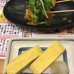 赤垣屋 - 出汁巻き(*´ω`*)どて焼き