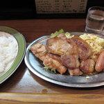 カレーショップ桐島屋 - 焼肉ランチ850円(大盛50円増し)
