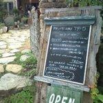 fruits cafe' trio - 看板