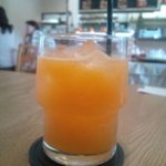 fruits cafe' trio - デコポンのフレッシュジュース