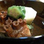 季寄料理よしかわ - 蛸の柔らか煮