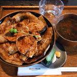 ブタリアンレストラン - でらっくす豚丼1150円(ランチ)